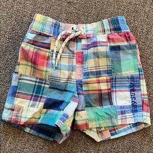 Gap Toddler swim trunks size 18-24 months